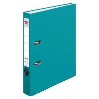 Herlitz Ordner maX.file protect COLOR BLOCKING, A4, 5 cm, caribbean turquoise