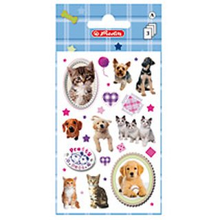Herlitz Sticker PRETTY PETS Hund & Katze