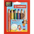 STABILO WOODY 3 in 1 Multitalent-Stift, verschiedene...